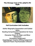 Dr. Jekyll and Mr. Hyde: Full Curriculum Unit