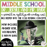 Dr. Jekyll and Mr. Hyde Reading Unit Novel Study {7th and 8th Grade Reading}