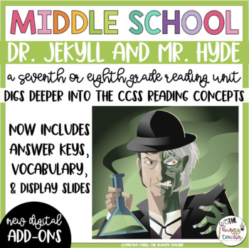 Dr. Jekyll and Mr. Hyde Reading Unit Novel Study {7th and