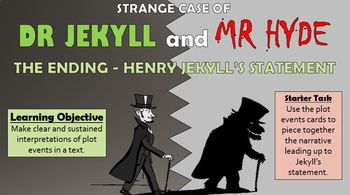 Dr Jekyll and Mr Hyde: The Ending - Henry Jekyll's Statement
