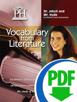 Dr. Jekyll and Mr. Hyde Vocabulary from Literature