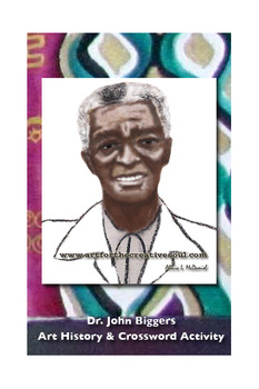 Dr. John Biggers Art History Activity and Crossword Puzzle