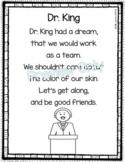 Dr. King - Martin Luther King Poem for Kids