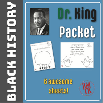 Dr King Packet for Black History!
