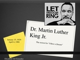Dr. King-The reason for I Have A Dream