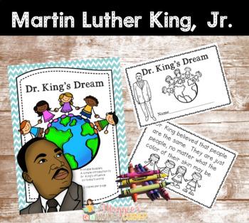 Dr. King's Dream Printable Booklet