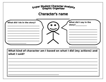 Dr. Lockett Character Analysis Graphic Organizar