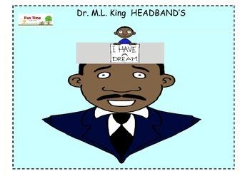 Dr. M.L.King Headband