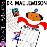 Dr. Mae Jemison craft (Black History; Astronauts; Space) K-5