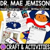 Dr. Mae Jemison craft and reading activity (Black History; Astronauts)