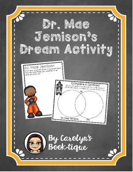 Dr. Mae Jemison's Dream Activity