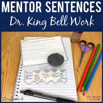 Dr. Martin Luther King Bell Work Mentor Sentences