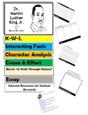 Dr. Martin Luther King Flip Book - Research Project