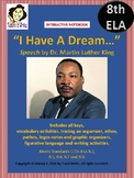 "Dr. Martin Luther King ""I have a Dream..."" Interactive Notebook Activities"