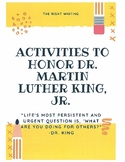 Dr. Martin Luther King, Jr. Activities