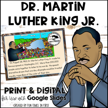 Dr. Martin Luther King Jr. {Activities and Resources to Support Research}