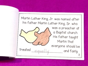 Dr. Martin Luther King, Jr. Activities Pack