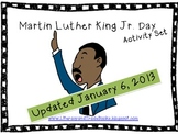 Dr. Martin Luther King, Jr. Activity Set - Updated January 2013