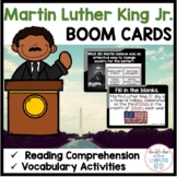 Dr. Martin Luther King Jr BOOM CARDS™ for Distance Learning