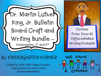 Dr. Martin Luther King, Jr. BULLETIN BOARD BUNDLE - Craft