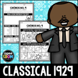 Dr. Martin Luther King, Jr Birthday, Classical, January, H