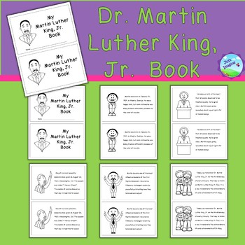 Dr. Martin Luther King, Jr. Book/Reader/Semi-Easy Reader