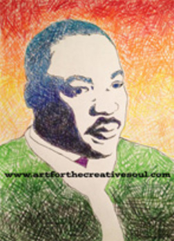 Dr. Martin Luther King Jr. Coloring Sheet