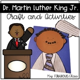 Dr. Martin Luther King Jr. Craft and Activities