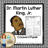 Dr. Martin Luther King, Jr. Crossword Puzzle