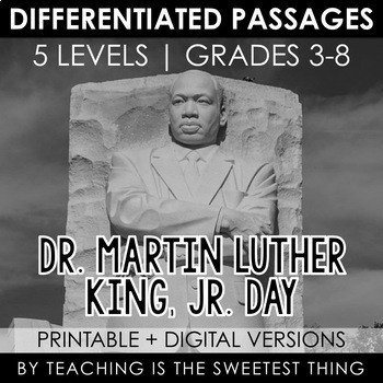 Martin Luther King Jr Day Passages