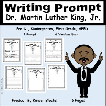 PERFECT FOR THIS WEEK - Dr. Martin Luther King, Jr. Day Writing Prompt