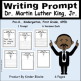 Dr. Martin Luther King, Jr. Day Writing Prompt