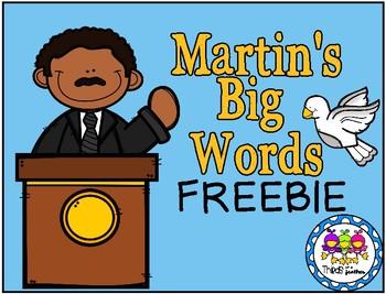Dr. Martin Luther King, Jr. FREEBIE Activity Sheet