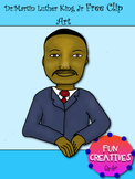 Dr. Martin Luther King Jr Free Clip Art