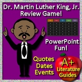 Martin Luther King Activities -  Review Game - Quotes, Dates, and Events