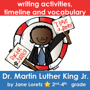 """Dr. Martin Luther King Jr. """"I Have a Dream"""" A Writing and History Lesson"""
