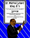 Dr. Martin Luther King Jr. I Have a Dream Speech Webquest and Writing Activity