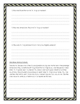 Dr. Martin Luther King Jr. Informational Text Packet