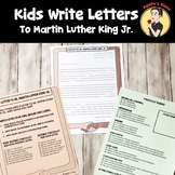 Dr. Martin Luther King, Jr. Letter Writing Activity