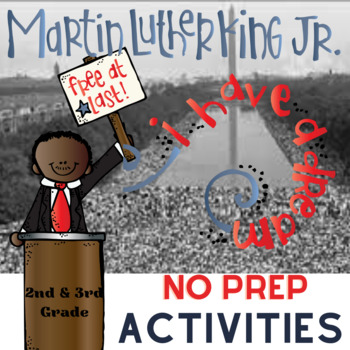 Dr. Martin Luther King, Jr. Literacy Unit for MLK Day