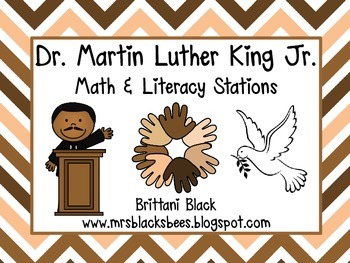 Dr. Martin Luther King Jr.~ Math & Literacy Centers