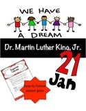 Dr. Martin Luther King, Jr.  (Middle School and High School)
