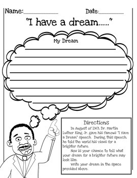 Dr. Martin Luther King Jr. Packet  (with free MLK Bookmarks) Grades 2-4