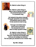 Dr. Martin Luther King Jr. Poem