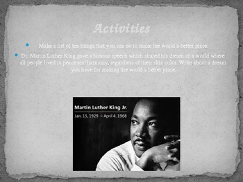 Dr. Martin Luther King Jr. PowerPoint