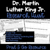 Dr. Martin Luther King Jr. Research Hunt