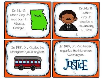 Dr. Martin Luther King, Jr. Scavenger Hunt