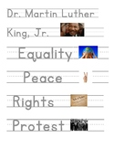 Dr. Martin Luther King, Jr. Sight Words FREE