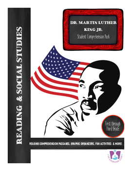 Black History Month Dr. Martin Luther King Jr. Reading Comprehension & Questions
