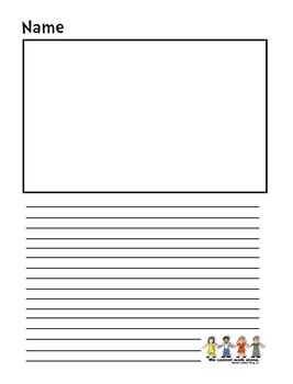 Dr. Martin Luther King Jr. Themed Lined Writing Paper